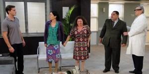 Cena da novela Morde e Assopra, Rede Globo (2011).  Foto: Divulgação