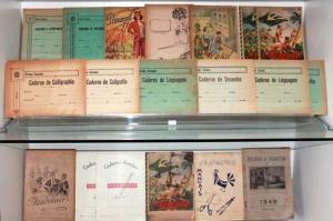 Cadernos de Caligrafia. Foto: Divulgação