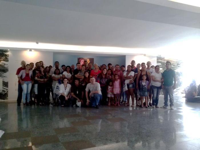 Casais de funcionários da Unifor. Foto: Divulgação