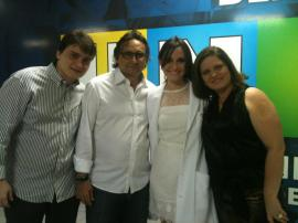 Yasmin e família. Foto: Juliana Teófilo