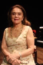 Eleazar de Carvalho, diretora artística do festival. Foto: Amanda Carneiro