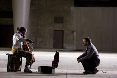 The Soloist movie image Jamie Foxx and Robert Downey Jr