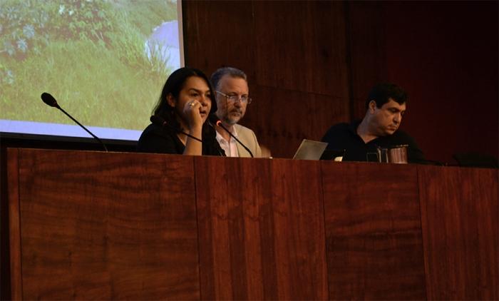 Adriana Santiago, Plínio Bortolotti e Fábio Santos. Foto: Felipe Toscano