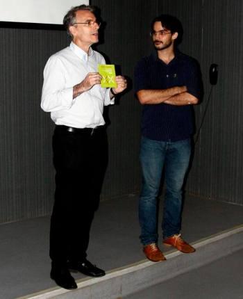 Luiz Ernesto Meyer e Nílbio Thé. Foto: Thiago Gadelha