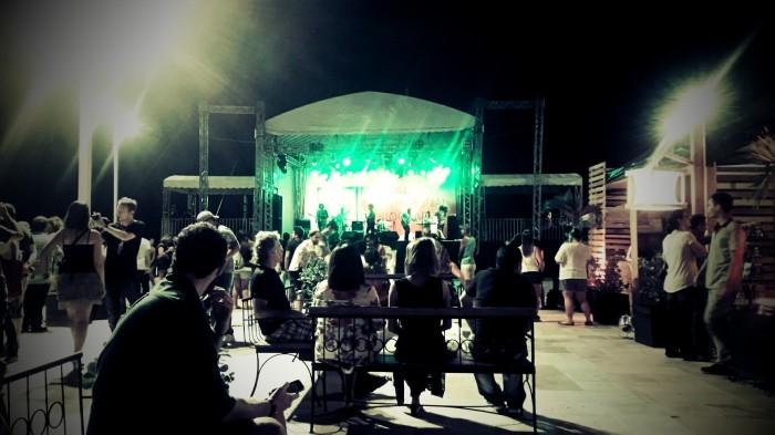 Show da banda Transacionais, encerramento do primeiro dia do Festival Internacional de Biografias. Foto: Priscila Baima