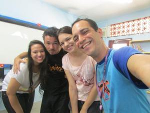 Rayanna Uchoa,Thyago Câmara, Ravelle Gadelha e Hemetério Araújo